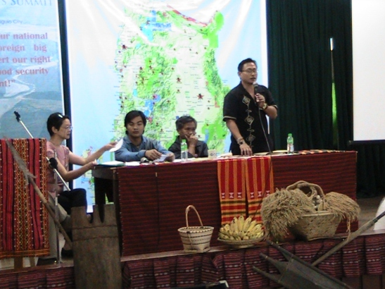 Members of the CDPC at a mining and human rights summit in Northern Luzon in November of 2011 (photo courtesy of CPDC).
