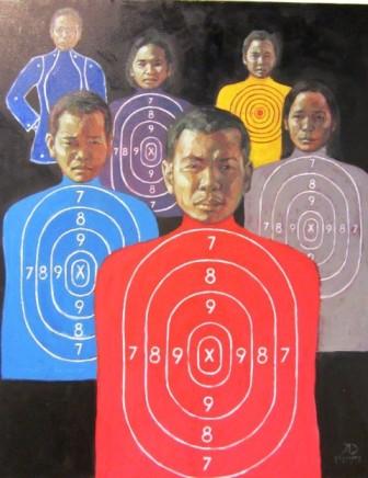 Painting by Antipas Delotavo image courtesy of Bulatlat.