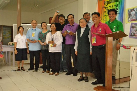Leaders from a previous peace consul meeting (photo courtesy of Philippine Ecumenical Peace Platform).